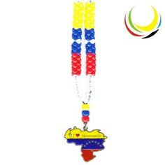 Necklaces- VENEZUELA MAP 7 STARS- ** You can get more details by clicking on the image.