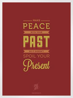 #posterdesign, #typography, #peace, #past, #present   http://www.behance.net/gallery/Seven-Lovely-Logics-Typography/7165895