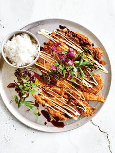 wasabi and sesame chicken schnitzel | donna hay