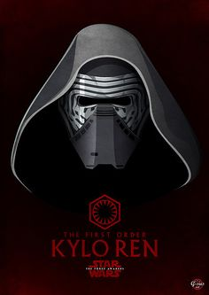Kylo Ren - in his grandfather's footsteps.  Shaping up to be the most insidious and unstable villain.