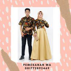 Model Baju Gamis Batik Couple Keluarga Sarimbit Motif Merak Daun Kombinasi Polos Terbaru Untuk Baju Lebaran 2020 Batik Couple, Couples, Polyvore, Fashion, Moda, Fashion Styles, Couple, Fashion Illustrations