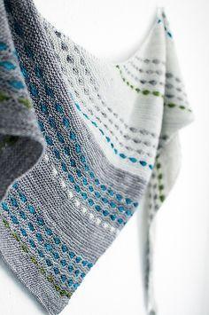 Moonraker Shawl By Melanie Berg - Purchased Knitted Pattern - (ravelry)