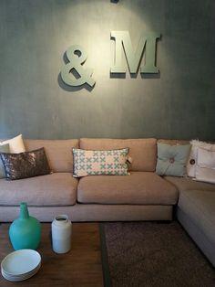 1000 images about kalkverf on pinterest met interieur and tes - Hoe een rechthoekige woonkamer te voorzien ...