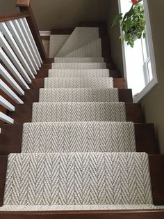 Stairs Runner Chevron Herringbone Runner Stair Runner You are in the right place about carpet stairs Carpet Staircase, Staircase Runner, Carpet Runner On Stairs, Runners For Stairs, Best Carpet For Stairs, Sisal Stair Runner, Basement Stairs, House Stairs, Cutting Edge Stencils