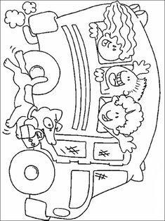 Disegni da colorare per bambini da stampare Scuola 15
