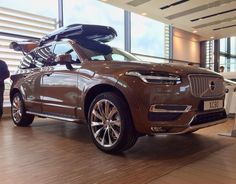 Wonderful Twilight Bronze XC90 Inscription with the styling package. Photo by @tarzan_83 and edit by me '_______________________________________'#volvo #volvocars #xc90 #volvomoment #cars #car #volvoforlife #volvospeed #volvolove #volvonation #volvofamily #2016 -Follow my crew I have tagged them. -My second account @RobinK_pics -Tag: #Volvo_pics by volvo_pics