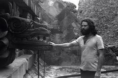 Jim Morrison en Teotihuacán, Estado de México.-1969