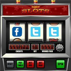 slot machine social media - Google Search