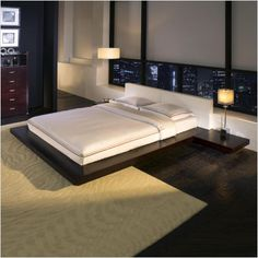 Japanese style bedroom, Japanese bedroom decor ideas and furniture design Top tips on how to add Japanese style bedroom and how to choose Japanese bedroom furniture, Best Japanese bedroom decor and design ideas for your bedroom interior design Modern Bedroom Design, Master Bedroom Design, Contemporary Bedroom, Bedroom Designs, Contemporary Furniture, Bed Designs, Modern Contemporary, Scandinavian Furniture, Plataform Bed