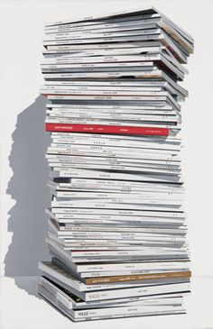 Vogue, oil on linen, 2011 by Victoria Reichelt