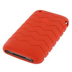 Etui silicone iPhone 3G/S iTire Rouge sur http://www.etui-iphone.com/c/etui-iphone-3gs.awp