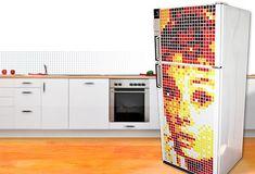 Pixel Art for your Fridge