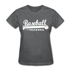 Love grandma baseball shirt