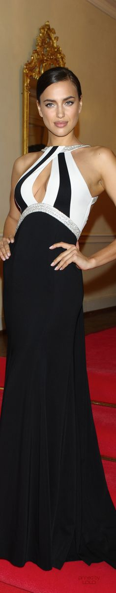 Amazing gown and love the black & white top. www.misskrizia.com
