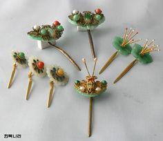 Korean traditional hairpins