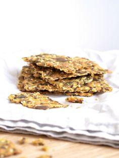 Gluten free seed crackers - Siemennäkkileipä