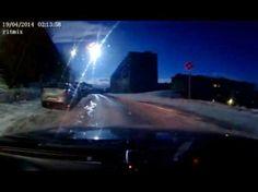 Rusia: Enorme meteorito cruza ese país y convierte la noche en día