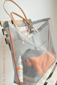 // Between the lines //: Mesh Beach Bag Tutorial!!