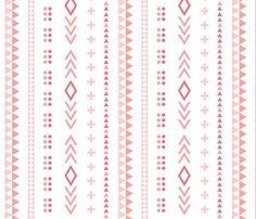 Pattern Play Pink fabric by leanne on Spoonflower - custom fabric