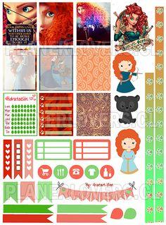 Free Printable Planner Stickers -  BRAVE MUESTRA