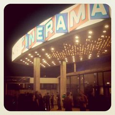 Cinerama Dome at Arclight Hollywood Cinema in Los Angeles, CA