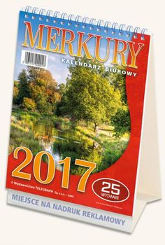 Kalendarz biurowy Merkury 2017_1 Broadway, Paper