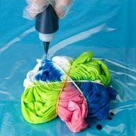Tie Die techniques, I always wanted to know how to do different designs!! This site makes it super simple!