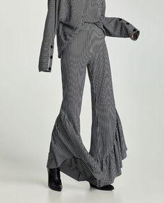 New Collection Online Trouser Pants, Denim Pants, Harem Pants, Zara, Fashion Catalogue, Jacquard Dress, Pants Pattern, Fashion Pants, Latest Trends