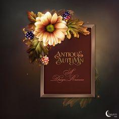 Moonbeam's Antique Autumn : Scrap and Tubes Store, Digital Scrapbooking Supplies
