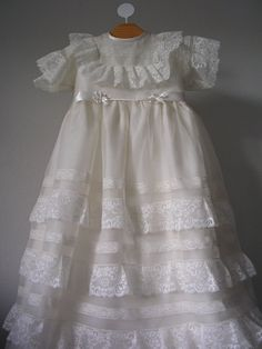Andalucia handmade christening gown with by ExquisitedesignRS, €449.00