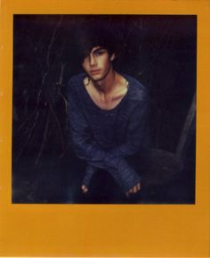Sam Alexander at Established Models. Instant Analogue by Cecilie Harris. Special thanks to Impossible.