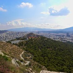 #Athens populates between immense hills.    Photo courtesy of ccnashphotography on Instagram.