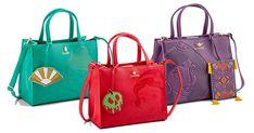 New Loungefly Debossed Disney Satchel Bags from ThinkGeek