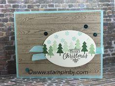 November Card Buffet - Hang Your Stocking - BJ's Stampin' Spot