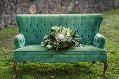 Velvet wedding decor idea - velvet #wedding reception decor idea {BOTANICA Events}