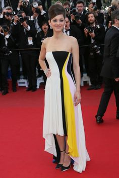 Cannes Film Festival: Runway to red carpet: Marion Cotillard in Christian Dior cruise 2014
