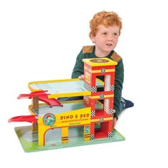 Le Toy Van Parkhaus Rot Dino-product
