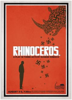 Rhinoceros, Eugene Ionesco most interesting cover so far