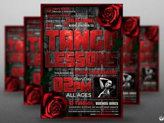Tango Flyer Template V2 by Lionel Laboureur