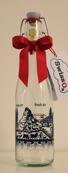 Wenn ihr frische Luft aus der Schweiz wollt…hier bitte…für lächerliche CHF 15.-- pro Flasche 😳🤔😏