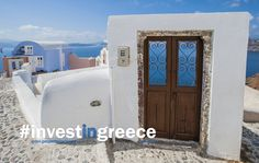 Where does this door lead to? Go to Greece to find out. Greece is glorious. The culture, the beauty, the people, the history... Greece. #InvestInGreece #Ellada  www.GreekPropertyExchange.com