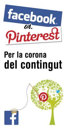 #Facebook vs. #Pinterest: per la corona del contingut #socialmedia #communitymanager