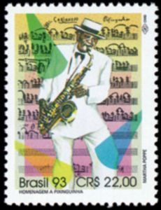 Sello: Pixinguinha (Brasil) (Brazilian Composers) Mi:BR 2551,Sn:BR 2426,Yt:BR 2138,RHM:BR C-1868