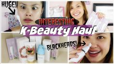 TRYING WEIRD K-BEAUTY PRODUCTS | OHLOLLY Korean Skincare Haul
