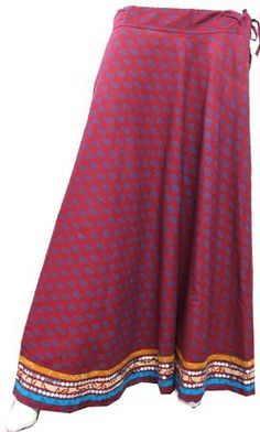 Price: 	$42.00 Indian Long Skirt with Sequins for Women in Cotton- Ethnic India Apparel Maple Clothing, http://www.amazon.com/gp/product/B007YLGH4G?ie=UTF8=213733=393185=B007YLGH4G=shr=abacusonlines-20=1370734217=8-86=ethnic+clothing
