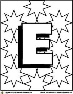 Kleurplaten Letters Met Bolletjes.48 Beste Afbeeldingen Van Letters Kleurplaten Coloring Pages