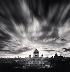 Michael Kenna,  Cathedral of Christ the Savior, Moscow, Russia, 2008