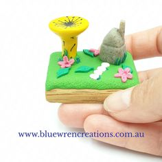 Whimsical hand sculpted miniature plants and animals to inspire and spark joy in your home. Follow Blue Wren Creations along on FB, Instagram or sign up for all the news on the website. Miniature Plants, Miniature Fairy Gardens, Polymer Clay Miniatures, Polymer Clay Art, Tasmanian Devil, Fairy Garden Houses, Wren, Sculpting, Whimsical