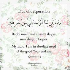 Of desperation
