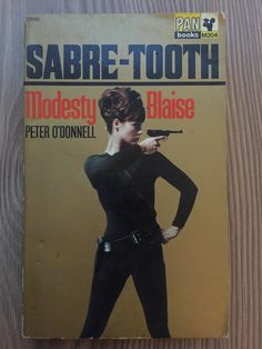 Sabre-Tooth,Modesty Blaise,Peter O'Donnell